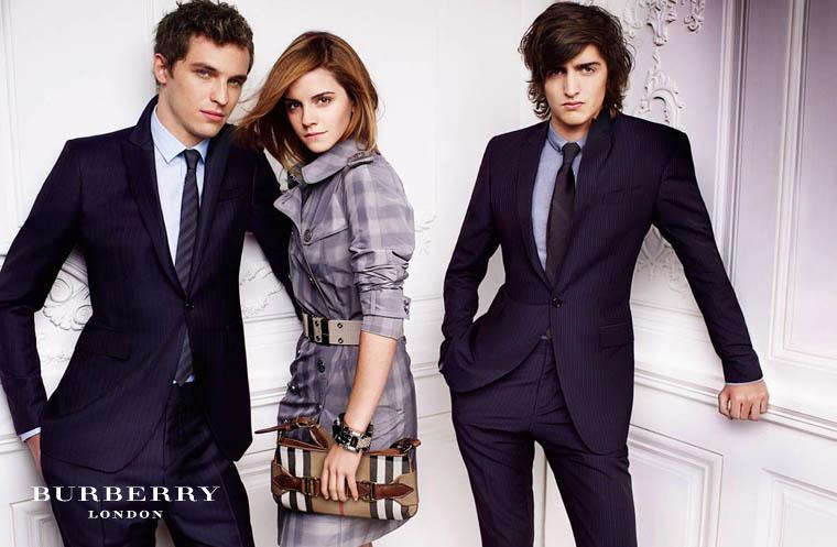 emma watson burberry ad 2010