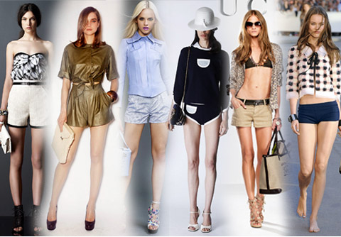 Fashion Short Short Pants Fashion in 2011